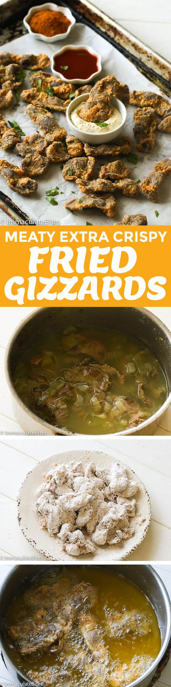 how to make chicken gizzards