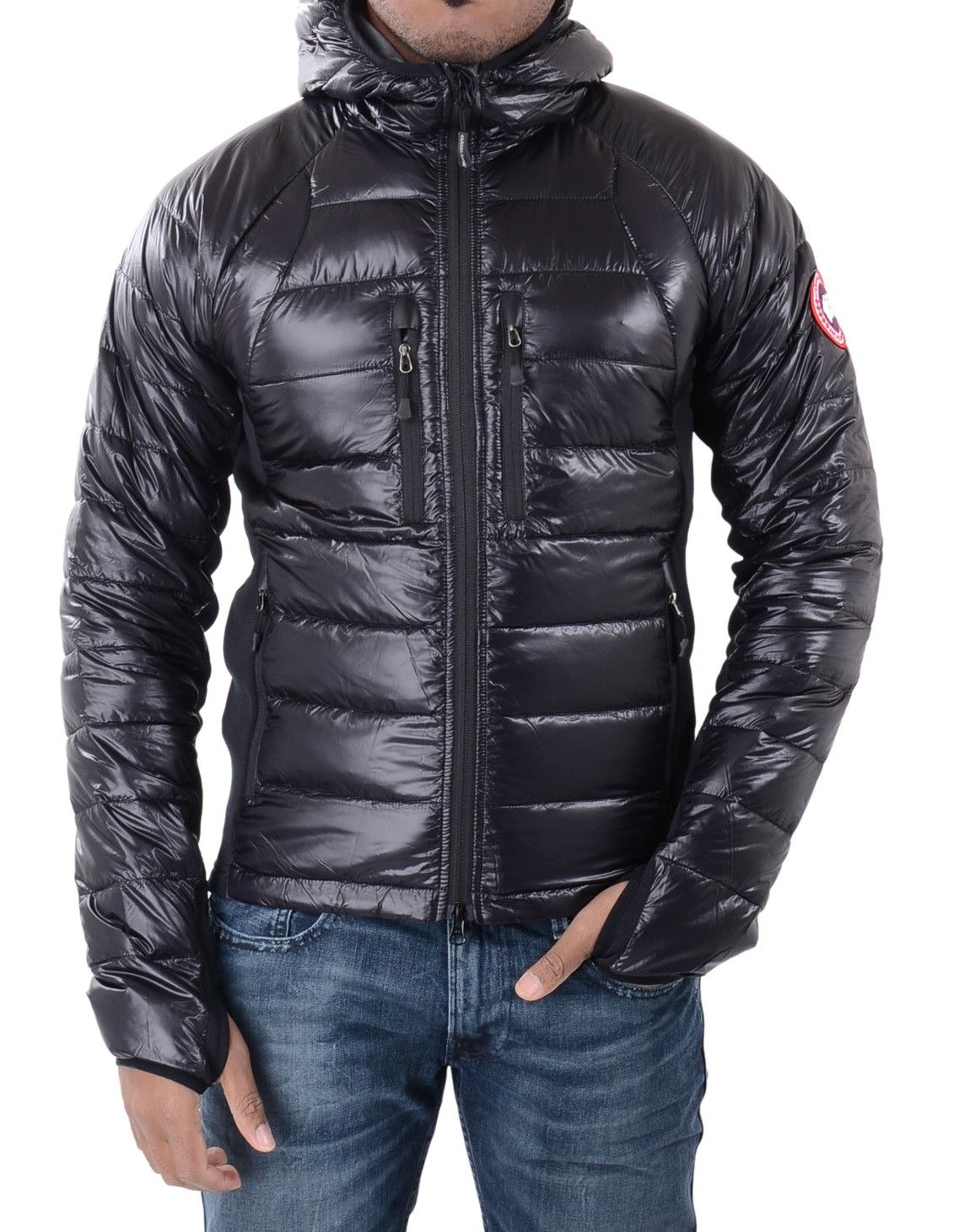 50549c03d1d Canada Goose - Hybridge Lite Hoody - Black | Accent Clothing | Men ...