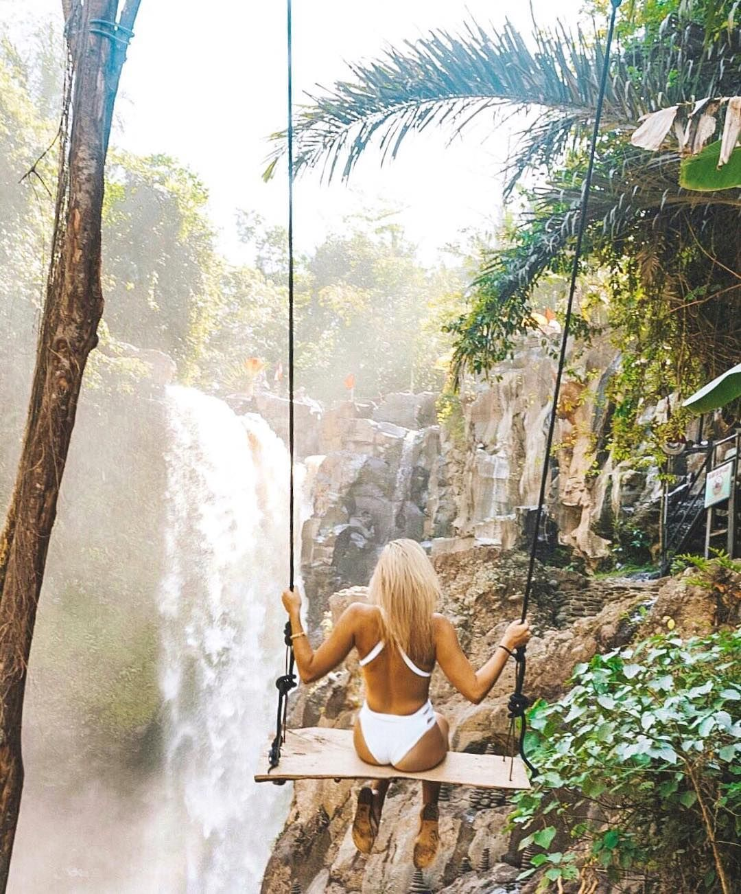 The Ultimate Bali Travel Guide – JetsetChristina.  That waterfall tho #BaliTravel