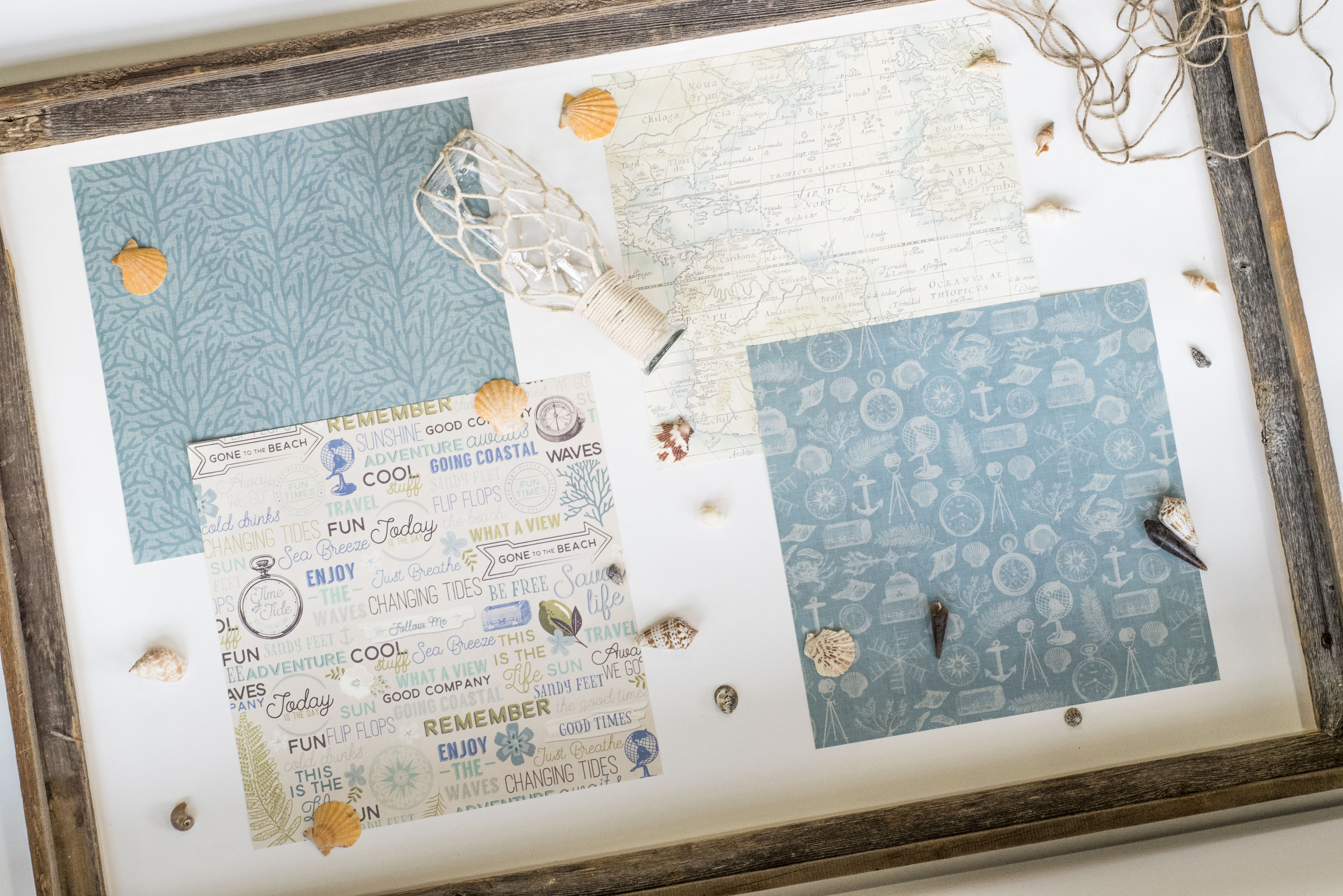 """Feelin' nautical with our """"Seaglass"""" paper pad available @michaelsstores now!"""