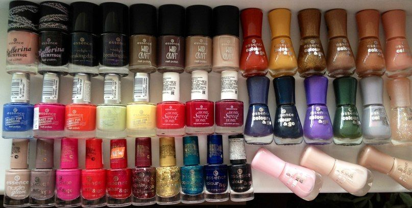 essence cosmetics nail polish