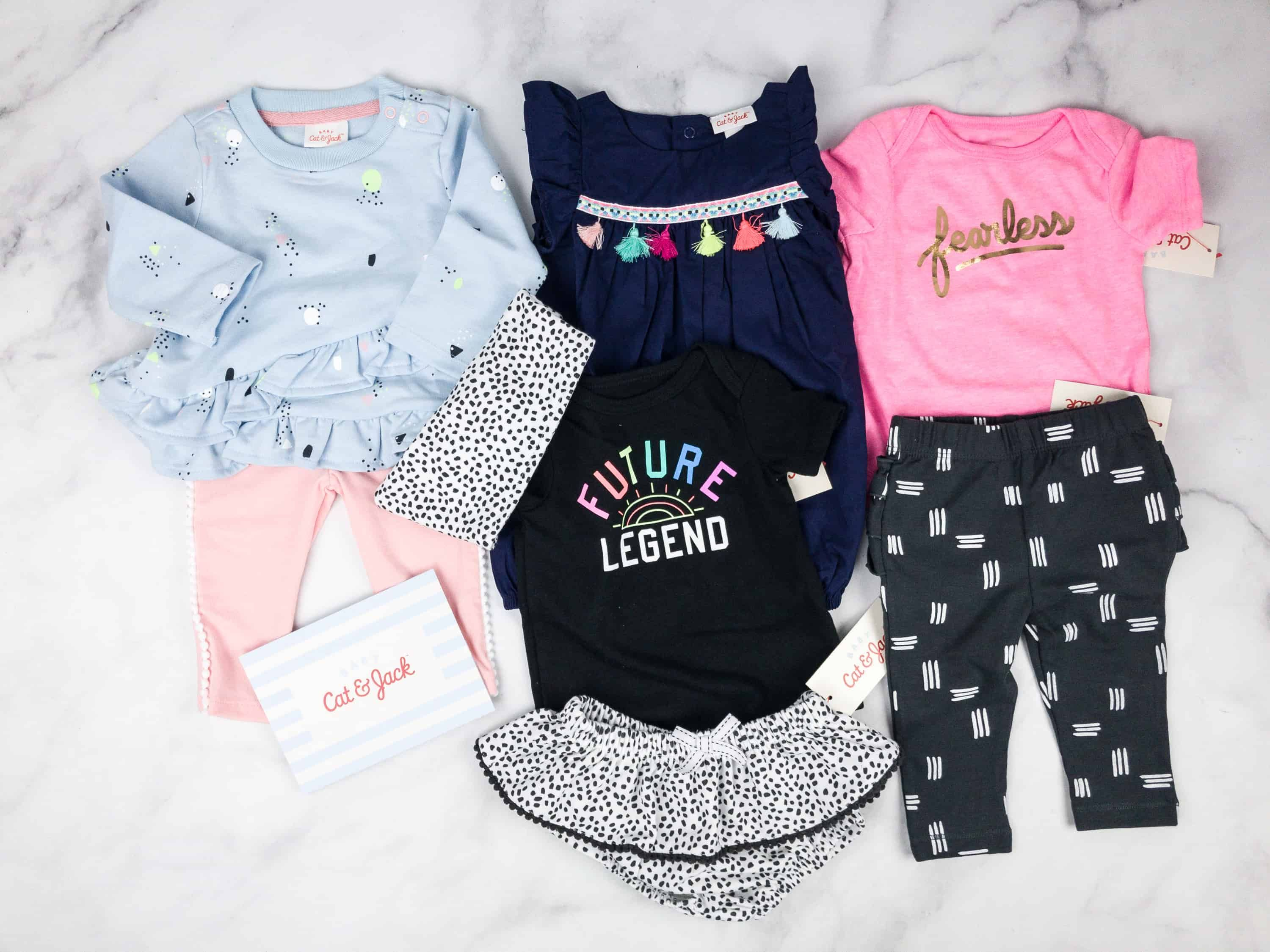 40b850f75900 Cat  amp  Jack Baby Outfit Box is a new baby clothing subscription from  Target.