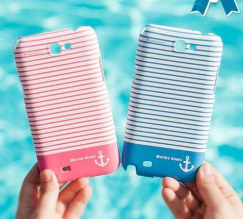 [HAPPY MORI] MARINE BLUES Phone Case Cover Skin for Galaxys3,s4,note2/iPhone5,5s