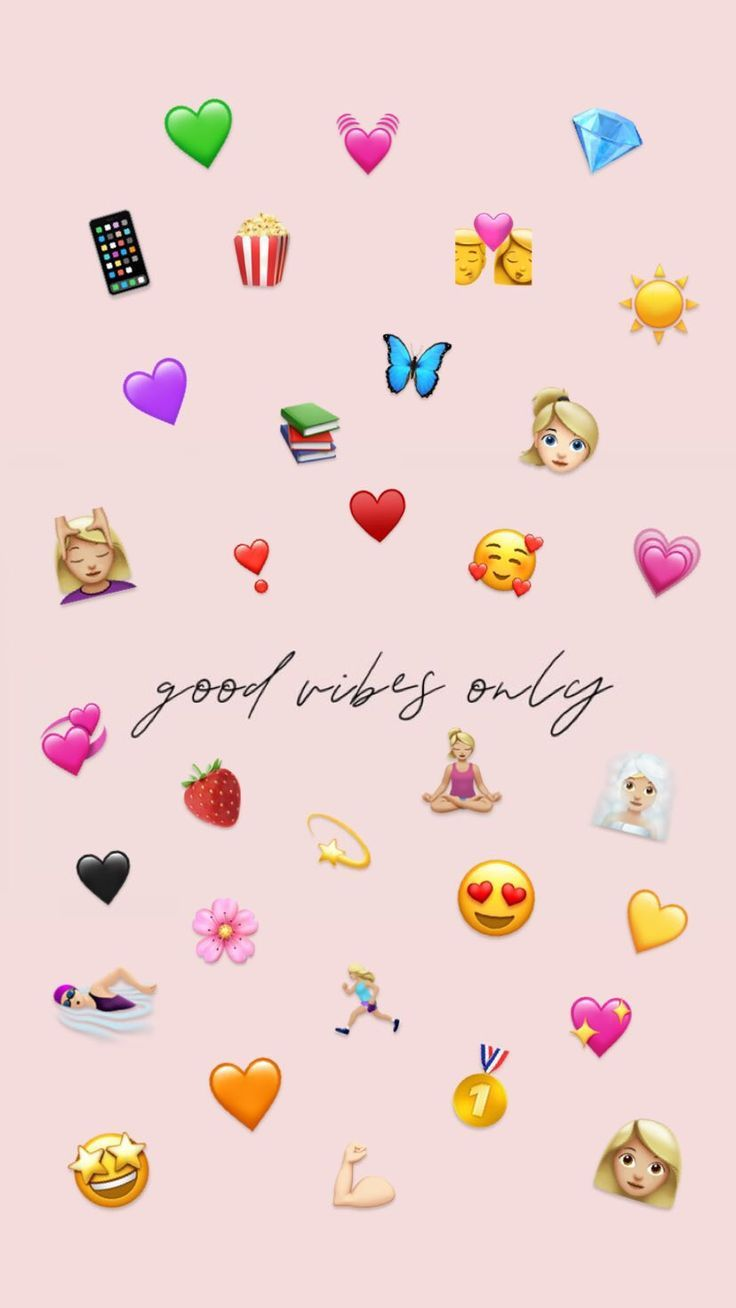 good vibes only😌🌸…Click here to download cute wallpaper