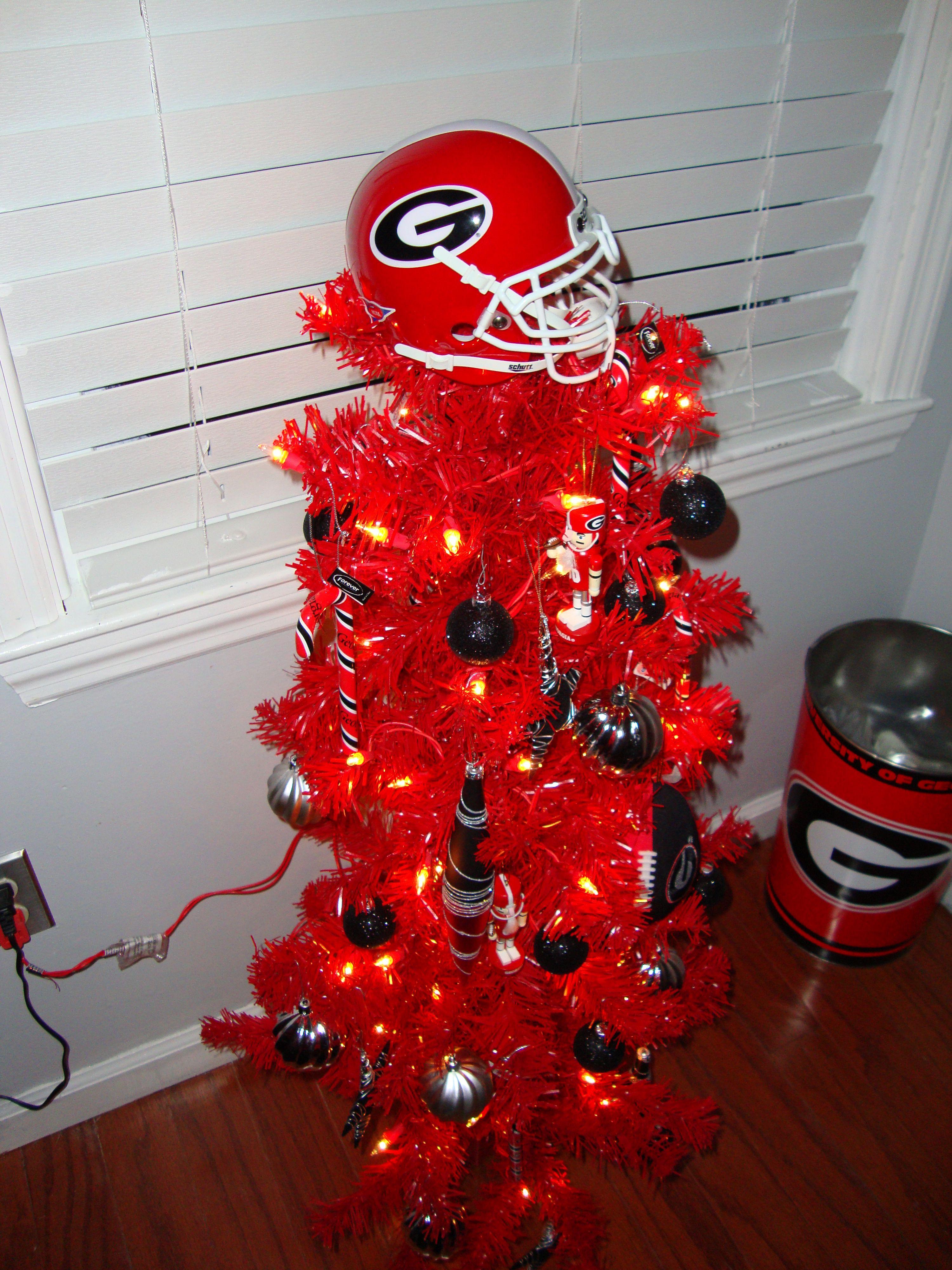 georgia bulldogs christmas ornaments