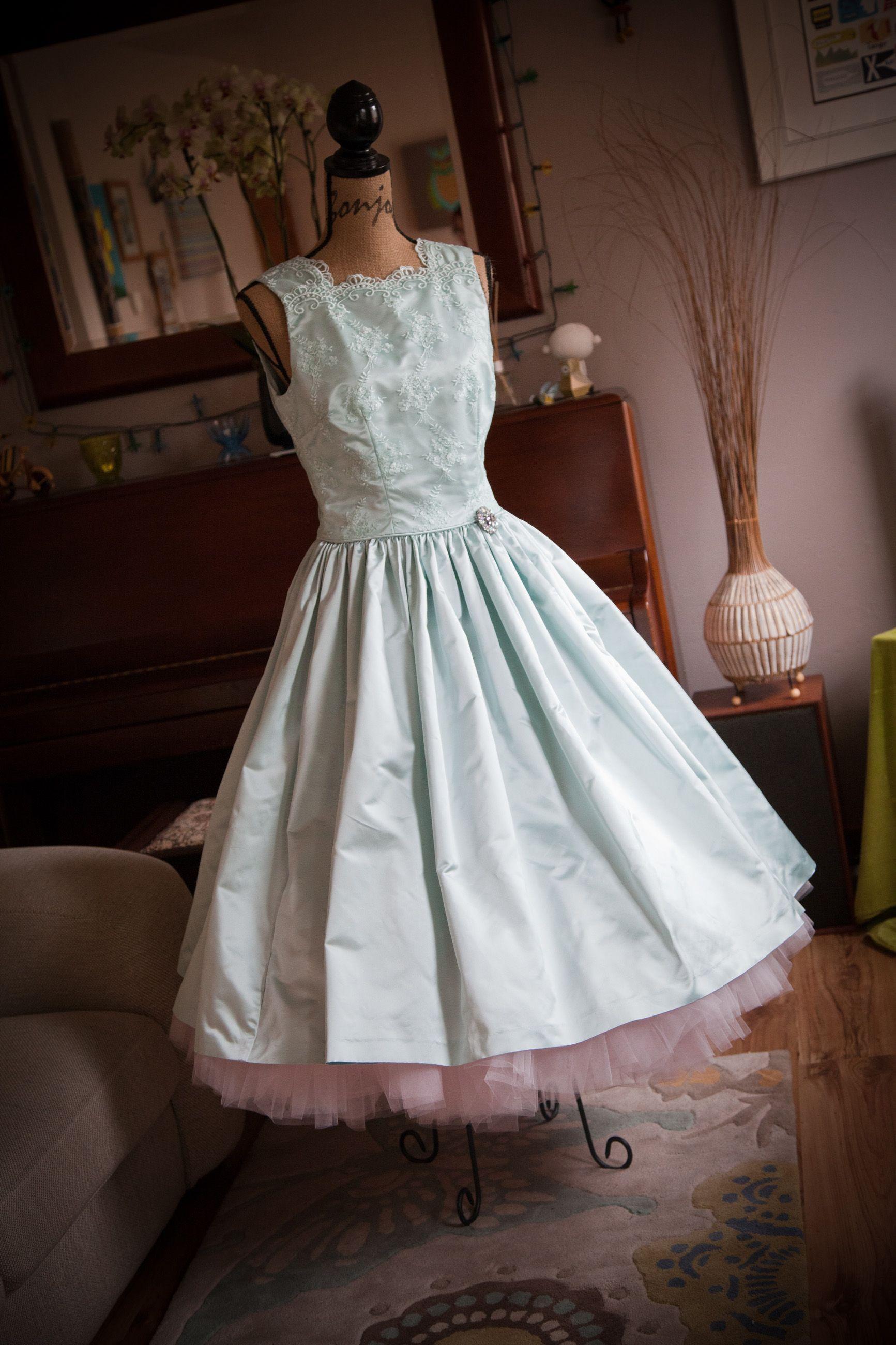 My beautiful wedding dress made by my mum from duchesse
