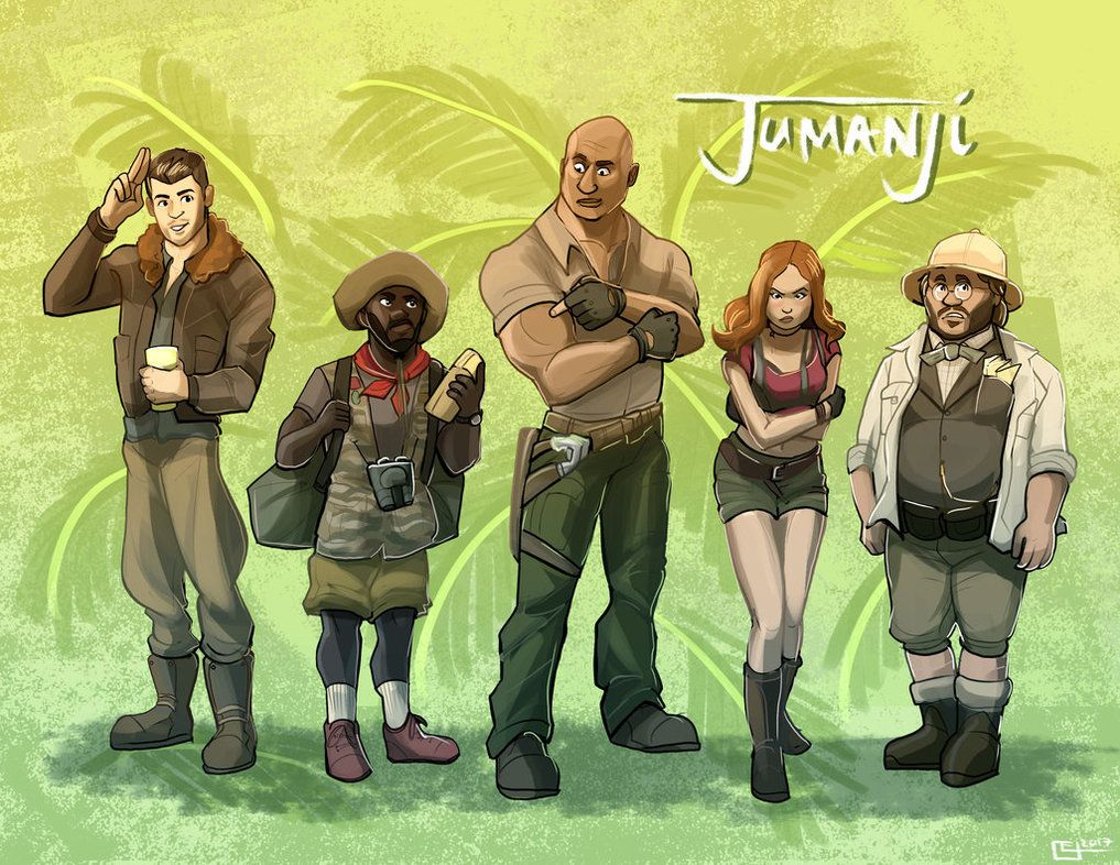 Jumanji Welcome To The Jungle By Emily C 2018 Welcome To The Jungle Funny Movies Jumanji Movie