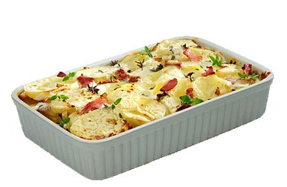 Hartige Aardappelgratin