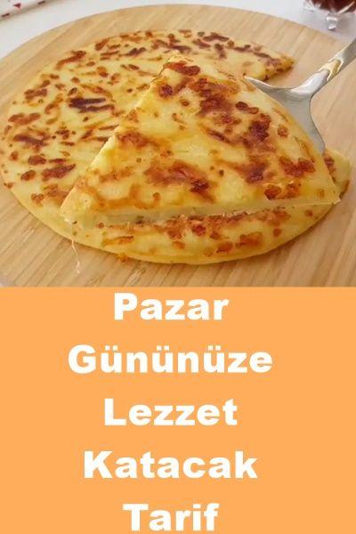 Pazar Lezzeti Tarifi #cheesepizza