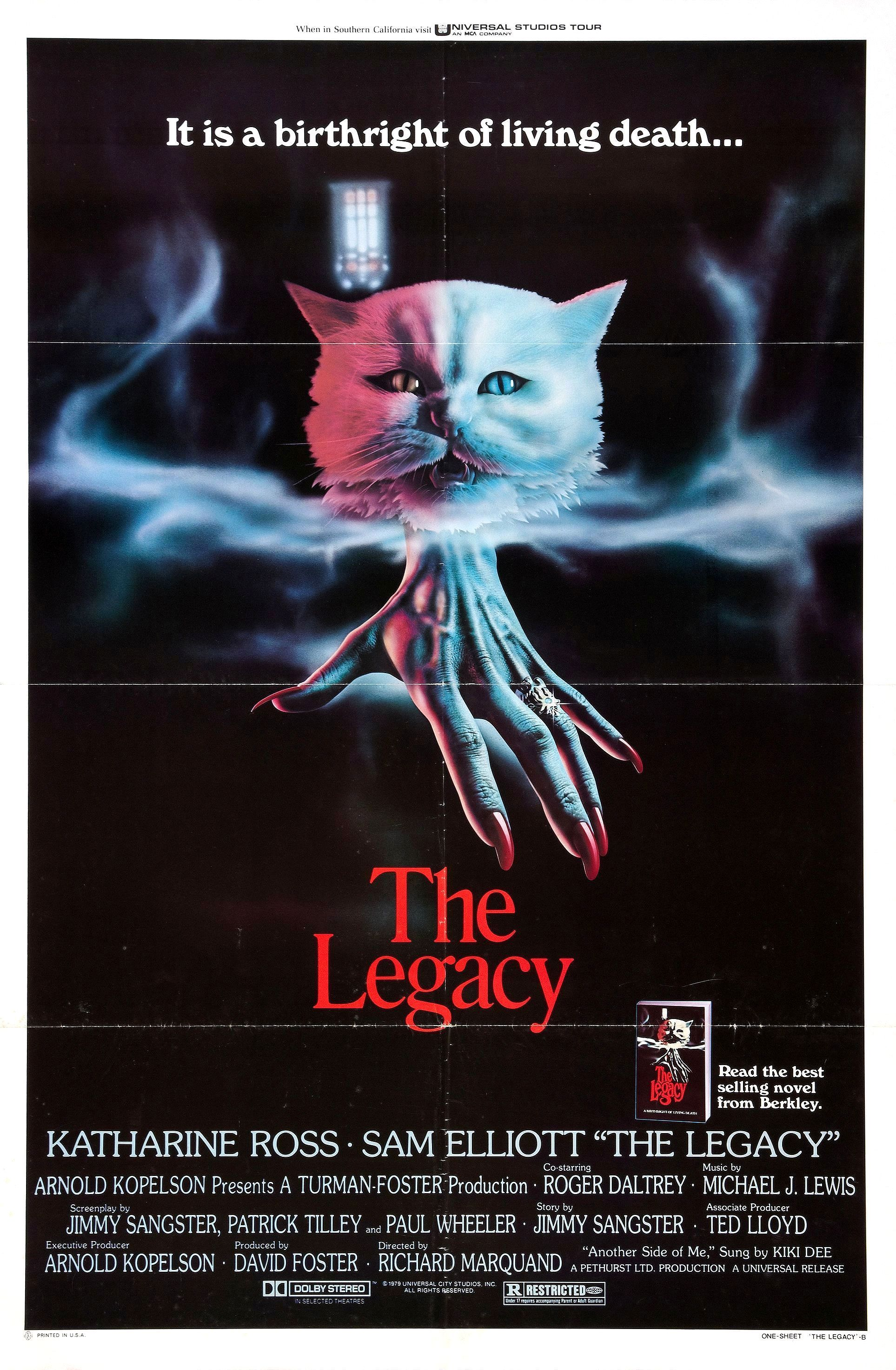The Legacy (1978) Horror movie posters, Horror posters