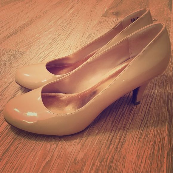Candies Nude Heel | Short heels, Shoe boot and Shoes heels