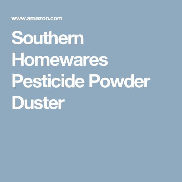 Southern homewares pesticide powder duster