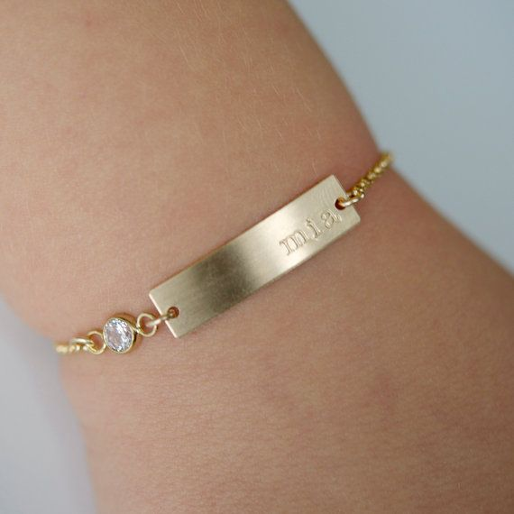 Gold Baby Bracelet Small Child