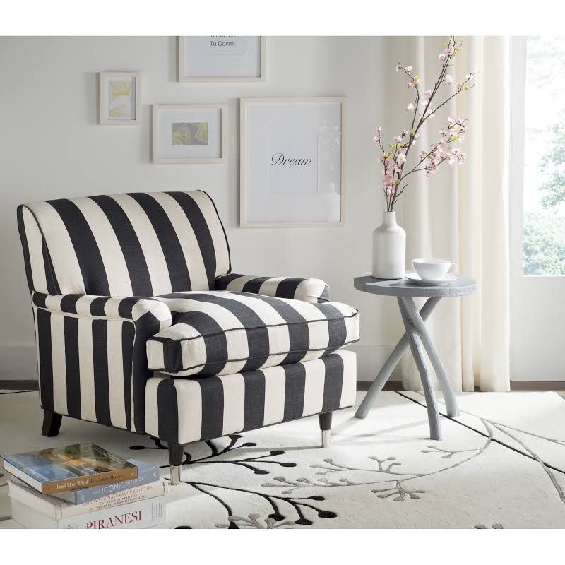 Striped Living Room Chairs. Room  striped living room chair Google Search For the Home