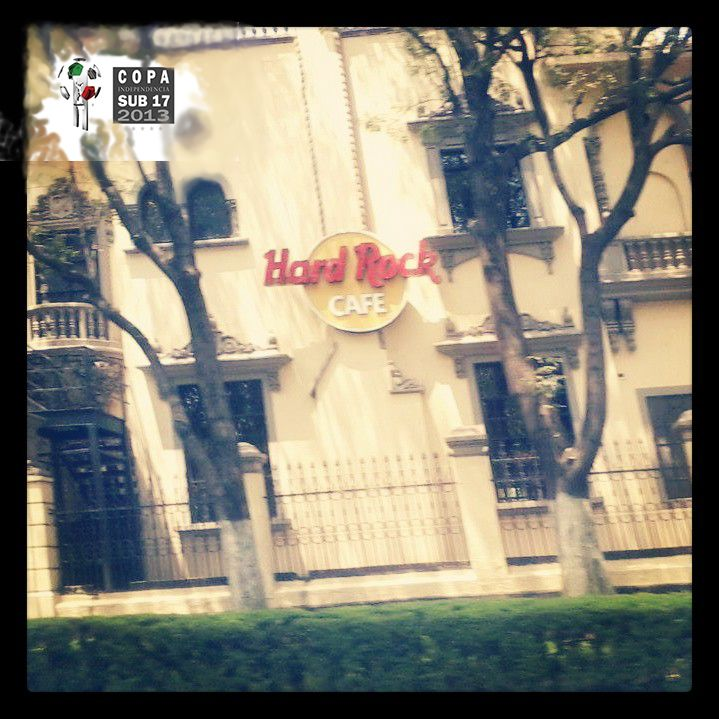 Hard Rock Café, Ciudad de México