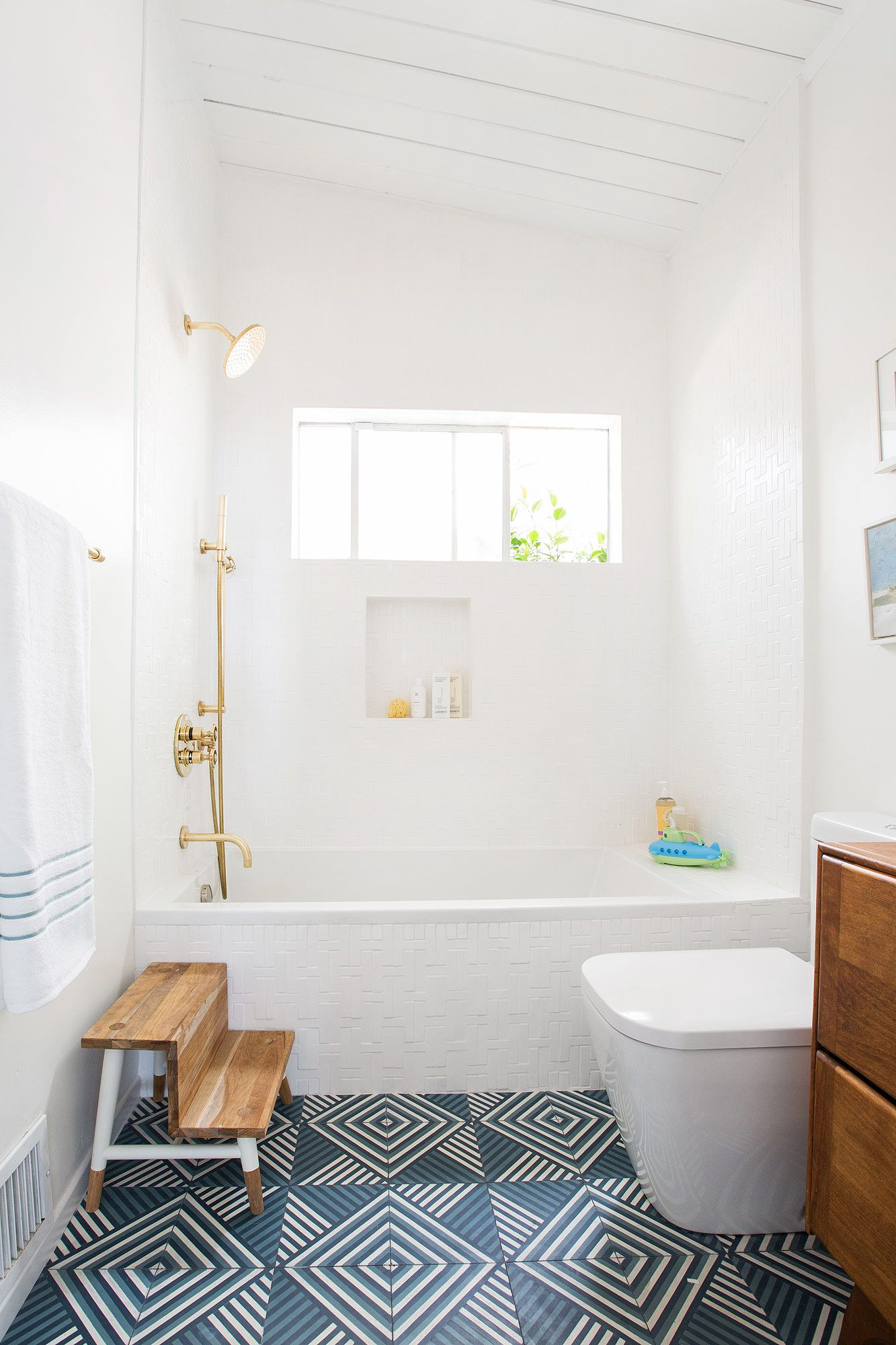 Master bedroom bathroom  Exclusive Emily Hendersonus Master Bedroom and Bath Makeover