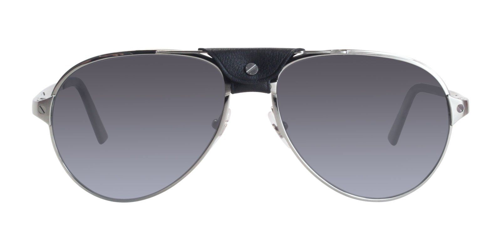 2659e2b1cdf Cartier - Santos de Cartier CT0034S - 005 sunglasses in 2018 ...