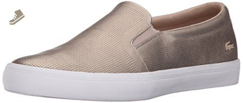 cf7f62adc65ff0 Lacoste Women s Gazon 116 3 Fashion Sneaker