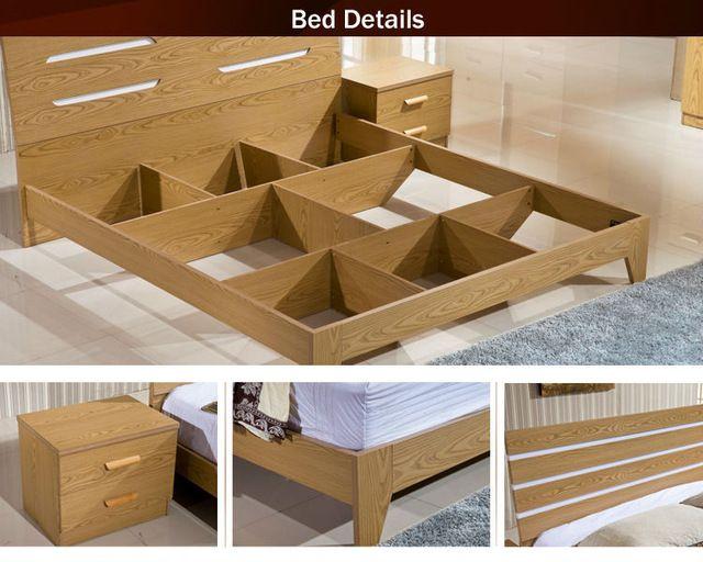 Best Source New Simple Design Melamine Mdf Wooden Modern Double 640 x 480