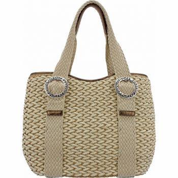 Brighton Whitley Straw Bag  $170