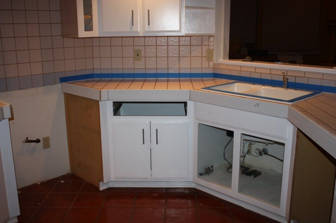 Quick Install Of Concrete Countertops Kitchen Remodel Diy