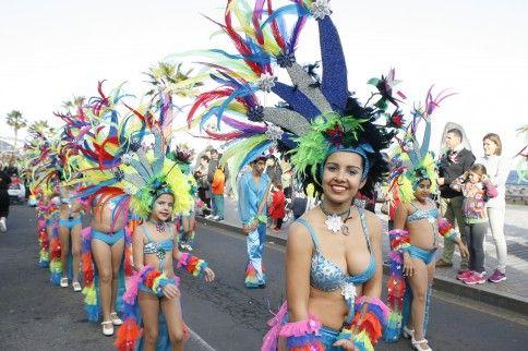 Resultado de imagen de coso candelaria carnaval
