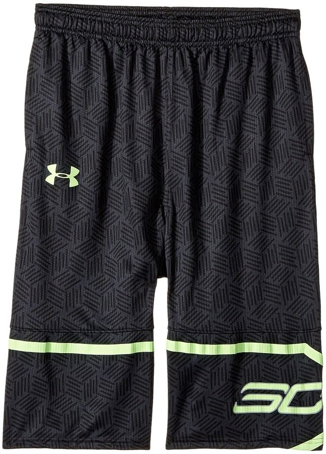 eed8082a8d8 Under Armour Kids Steph Curry 30 Printed Spear Shorts (Big Kids ...