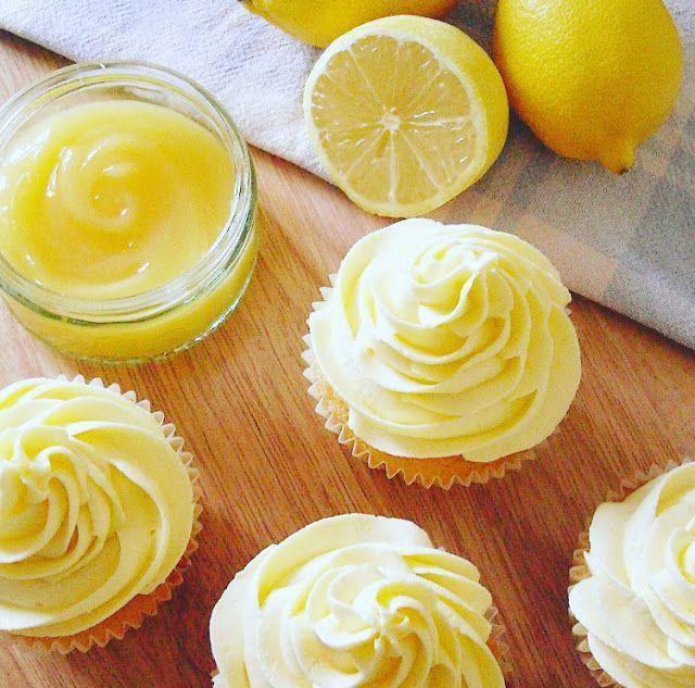 The best recipes cooking Lemon  Elderflower Cupcakes