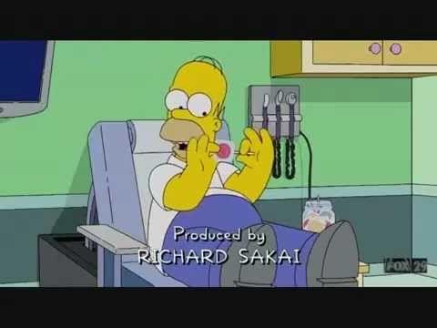 Homers Zunge ist zu Empfindlich für einen Kirsch Lolly :D
