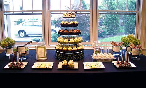 Dessert Table Birthday, 50th