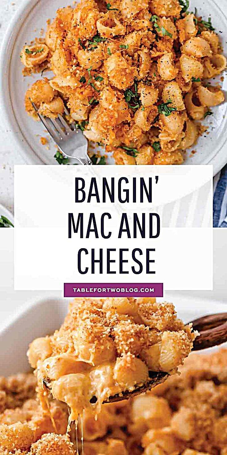 - This mac and cheese recipe has a bit of a kick to it and it's the perfect weeknight comfort meal w...