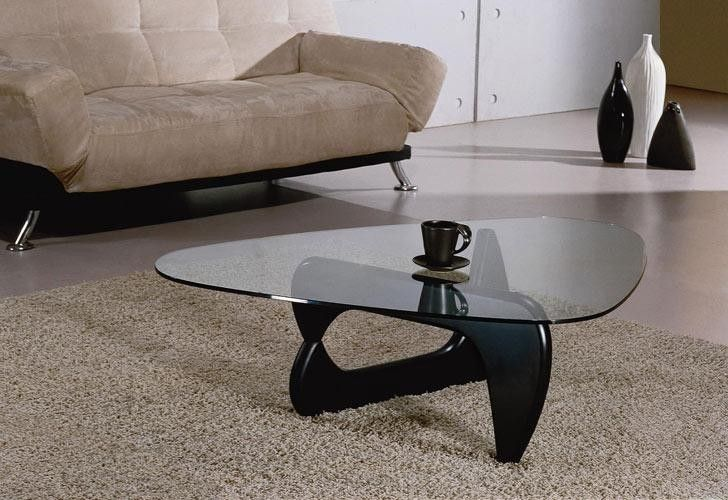 Noguchi Modern Coffee Table Black