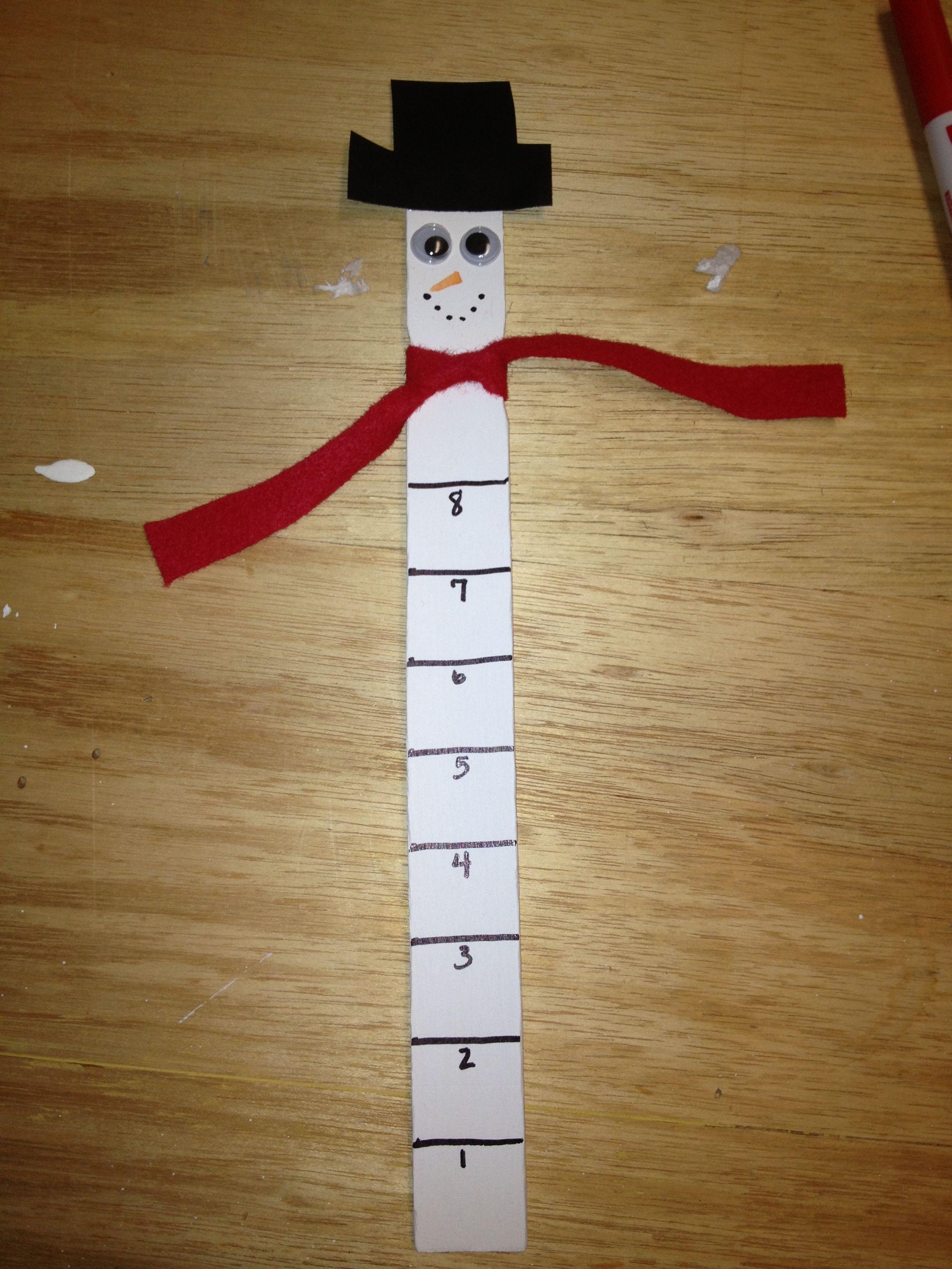 Snow Measuring Sticks For Cl Parties