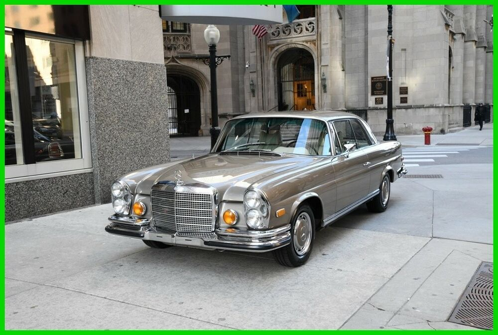 This 1971 Mercedes 280SE 3.5 has just completed a two year