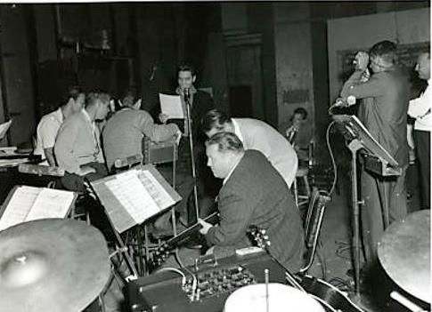 April 27 1960 Soundtrack Recording For Gi Blues Was Moved To The