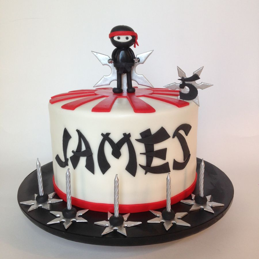 Ninja Warrior Cake Ideas