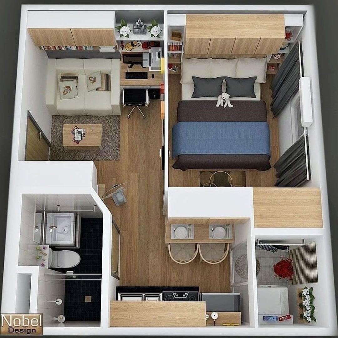 Design Untuk Rumah Minimalis Keren Ya By Pinterest Rumah Rum Denah Rumah Desain Rumah House Blueprints