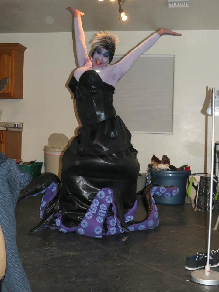 Coolest homemade ursula costume ursula costumes and halloween ursula halloween costume solutioingenieria Images