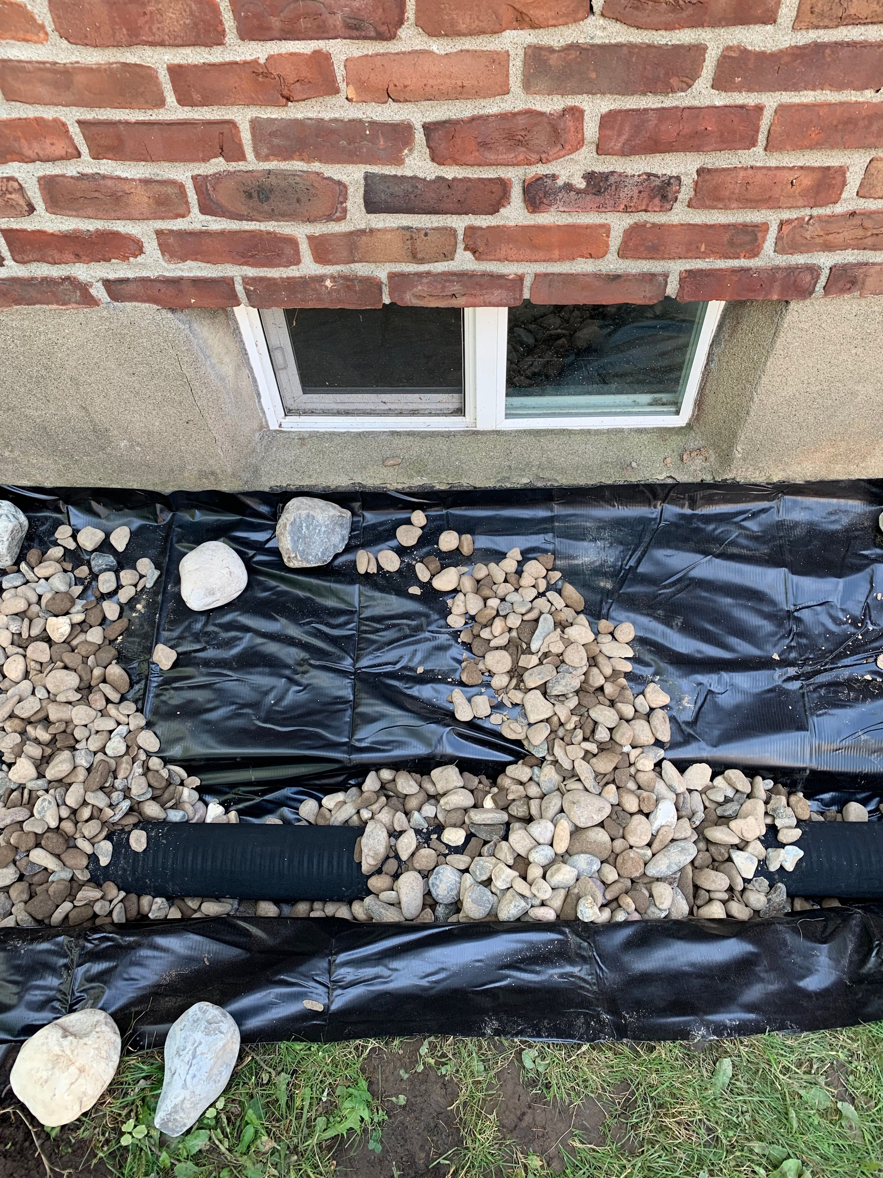 Basement Waterproofing With Exterior Foundation French Drain Install To Fix Wet Damp Leaking Wall Waterproofing Basement Sump Pump Drainage Drainage