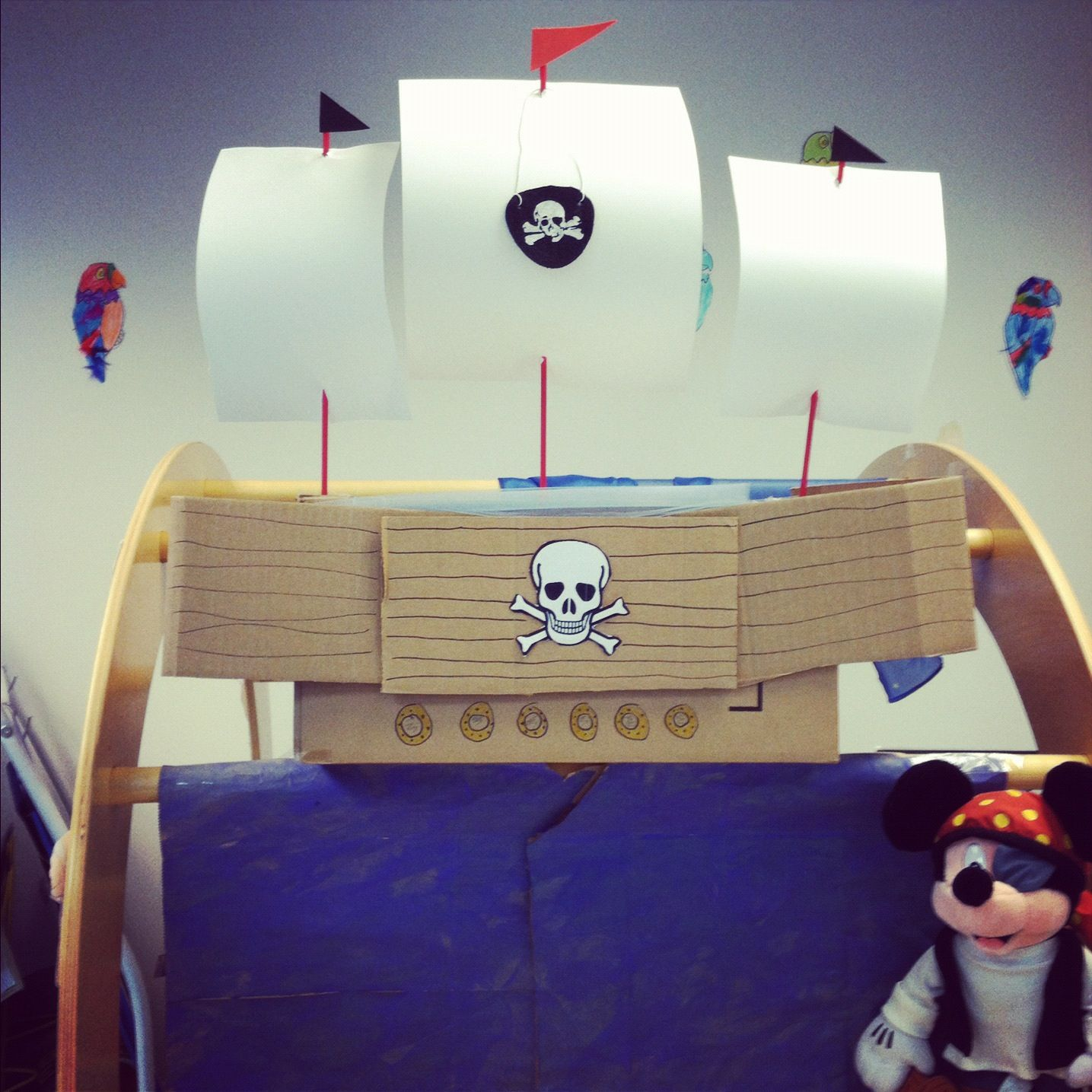 My Book Nook Transformation For Mth Pirates Past Noon