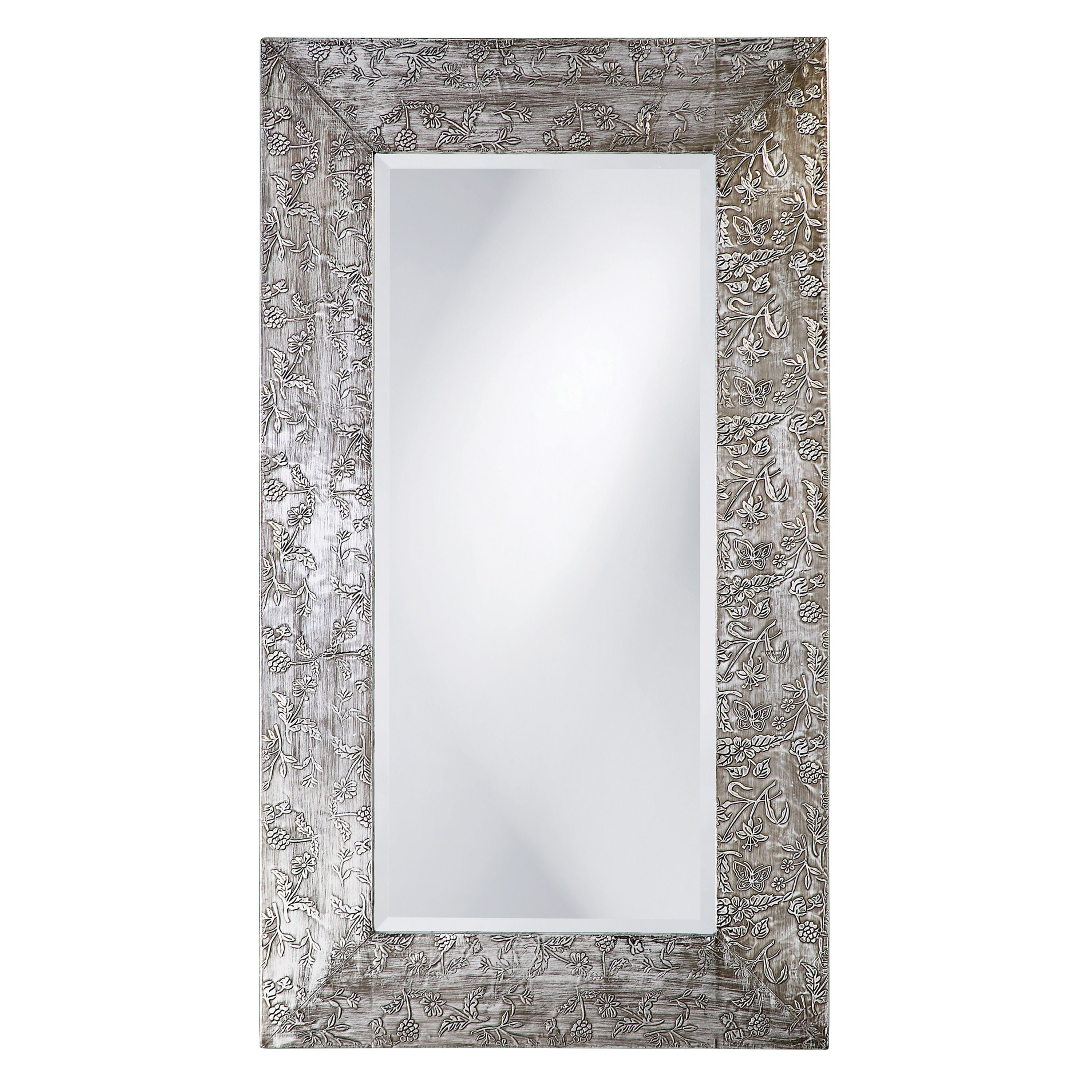 New Zealand\' Silver Wood Mirror - Overstock Shopping - Great Deals ...