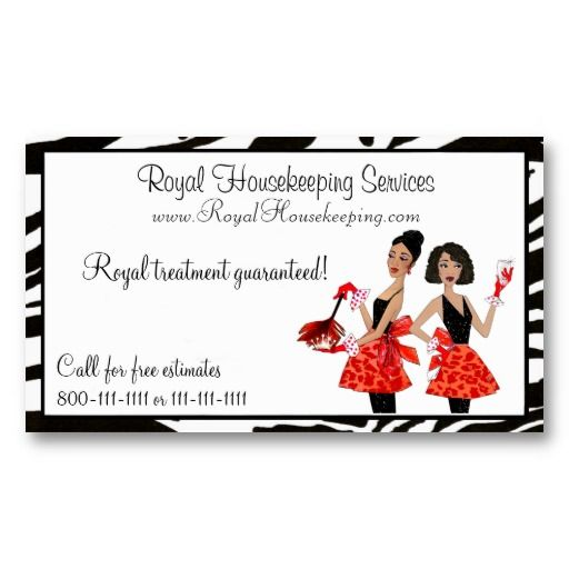 House Cleaning Diva Business Cards Business cards, Diva and Business - house cleaning flyer