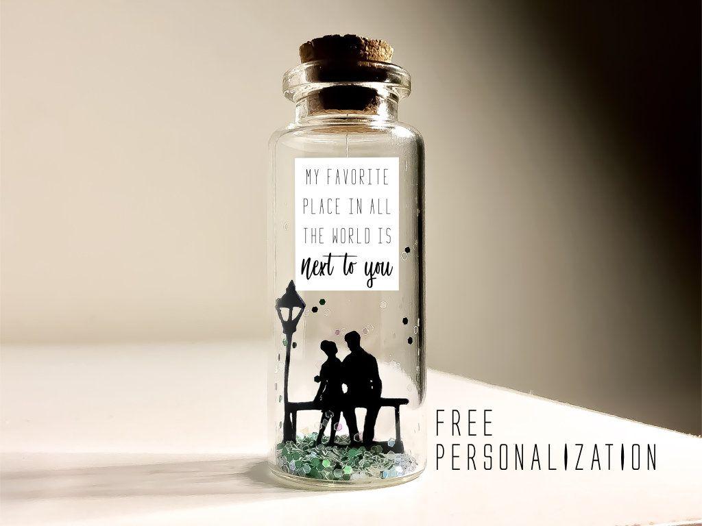 Personalized anniversary gift for boyfriend girlfriend