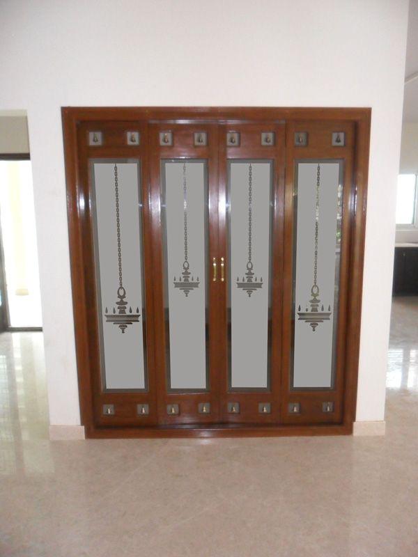 Pooja room doors pooja room doors pinterest doors for Room door design photos