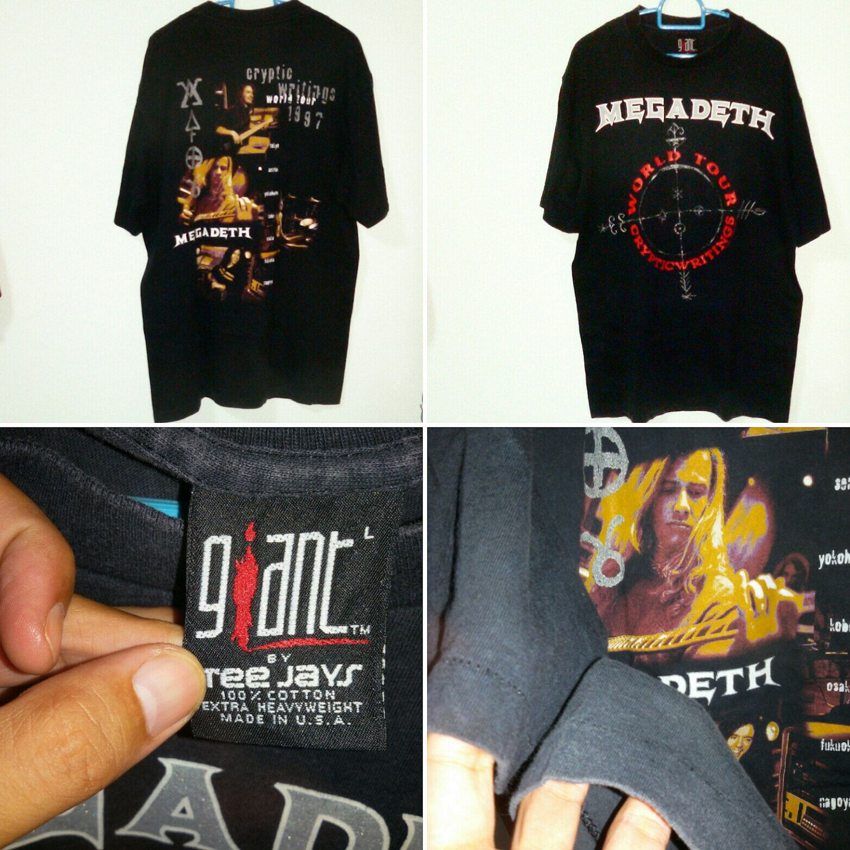 90s Megadeath To letgo.. Available Now!