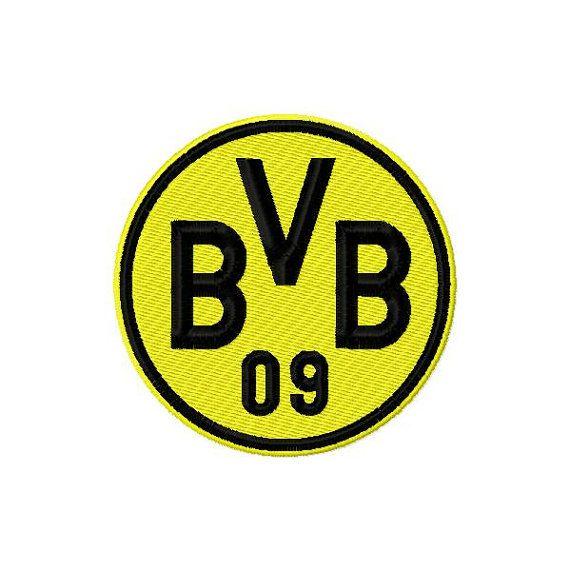 Borussia Dortmund Logo Machine Embroidery Design Borussia Dortmund Borussia Dortmund Logo Borussia