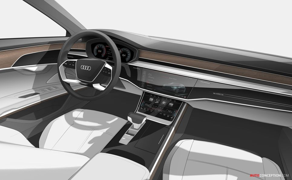 new audi a8 revealed car interior sketches pinterest audi audi a8 et interieur. Black Bedroom Furniture Sets. Home Design Ideas