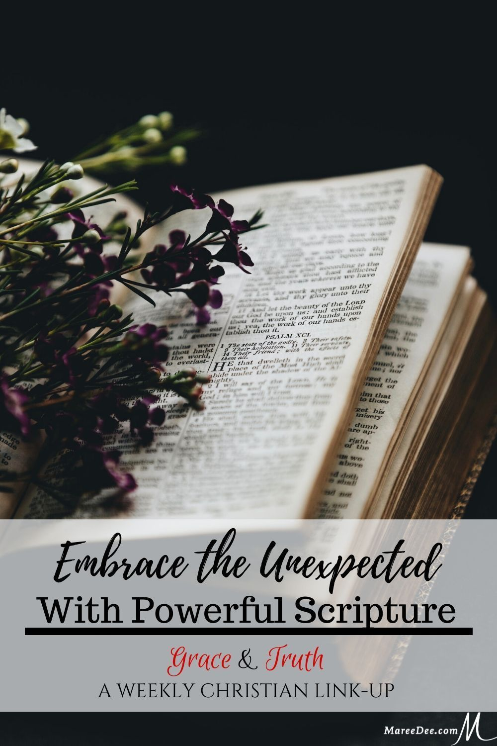 Embrace the Unexpected With Powerful Scripture LinkUp