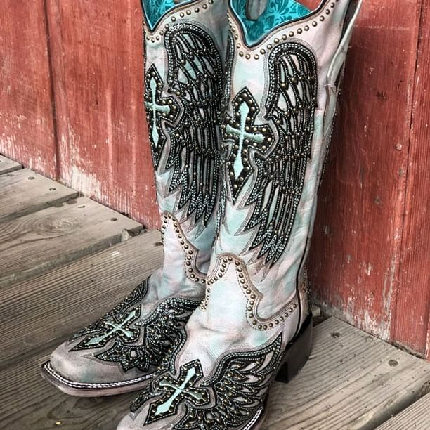 Aren't these boots HEAVENLY  is part of Boots -