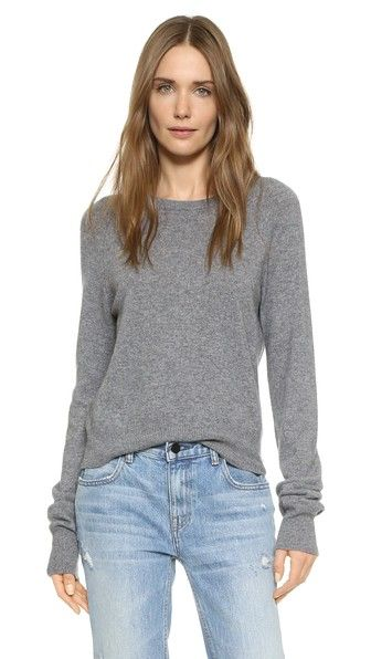 Kate Moss Ryder Sweater With Elongated Sleeves In Heather